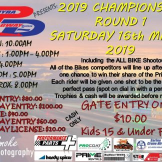 PDRC Championships Rd 1 16-3-2019